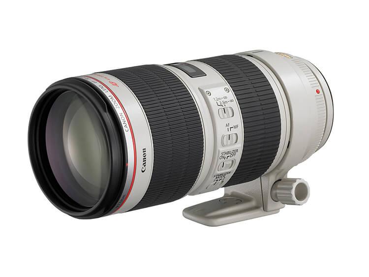 Zoom de Telefoto - EF 70-200mm f/2.8L IS II USM