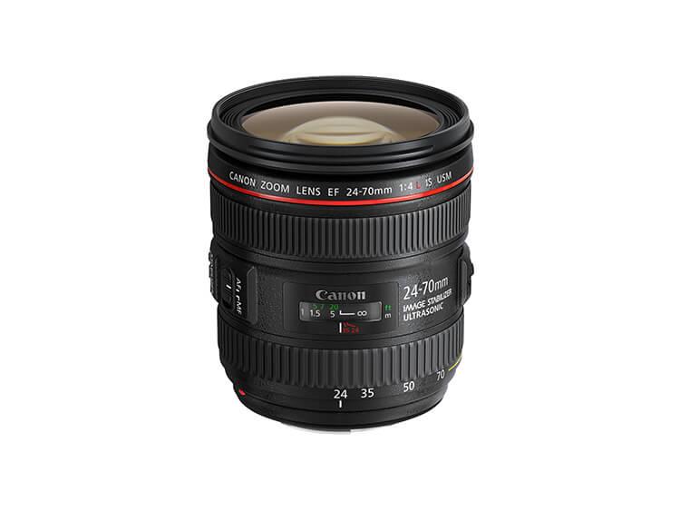 Zoom Estándar - EF 24-70mm f/4L IS USM