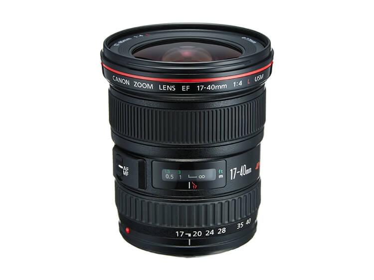 Zoom Ultra Gran Angular - EF 17-40mm f/4L USM